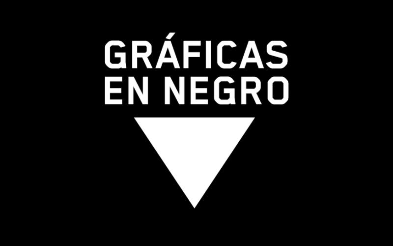 icono de gráficas en negro