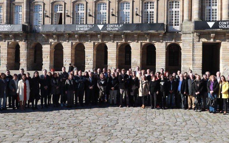Foto grupo asinatura protocolo